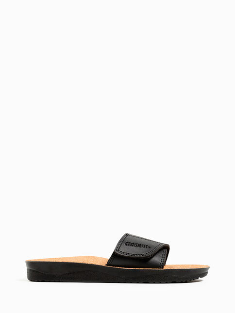Maseur Gentle Massage Sandal Black Size 11