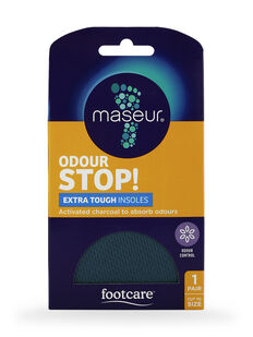 Odour Stop Extra Tough Insoles, 1 pair