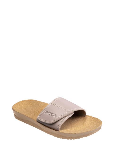 Limited Edition Gentle Massage Rose Shimmer Sandal Size 5