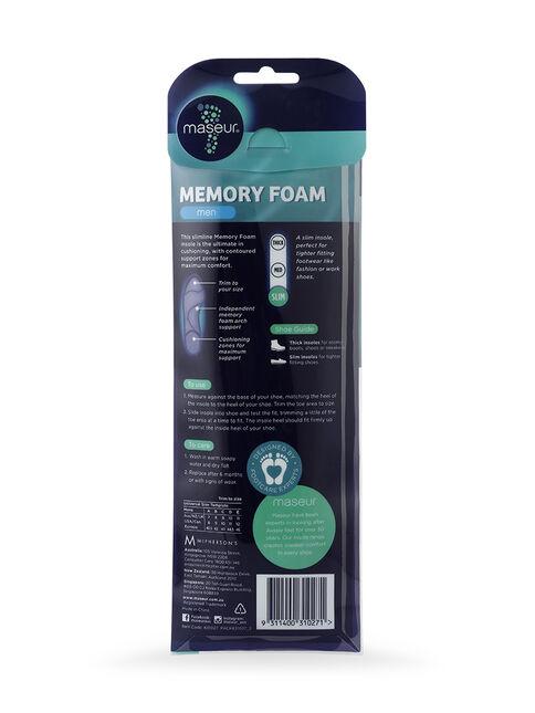 Men's Memory Foam Insoles, 1 pair