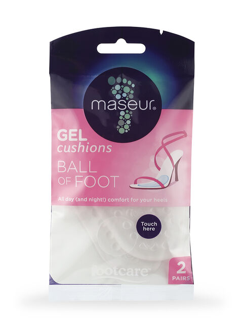 Ball of Foot Gel Cushions, 2 pairs