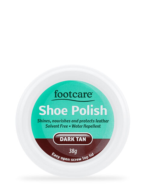Shoe Polish Dark Tan 38g
