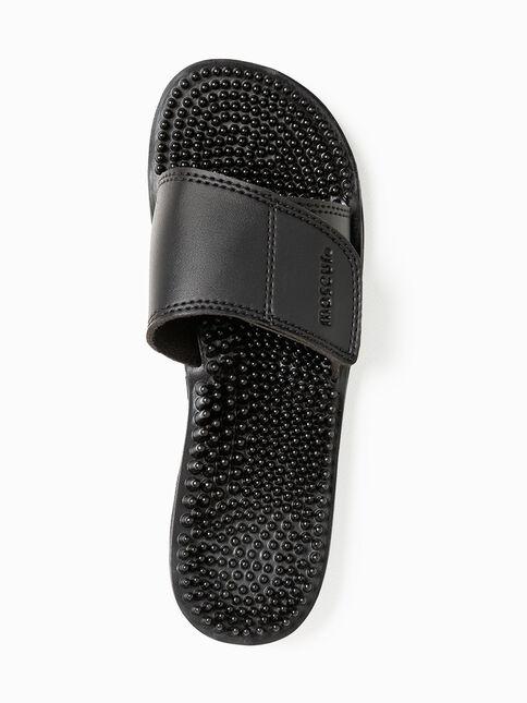 Maseur Invigorating Massage Sandal Black Size 11