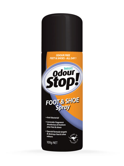 Odour Stop Foot and Shoe Spray 100g