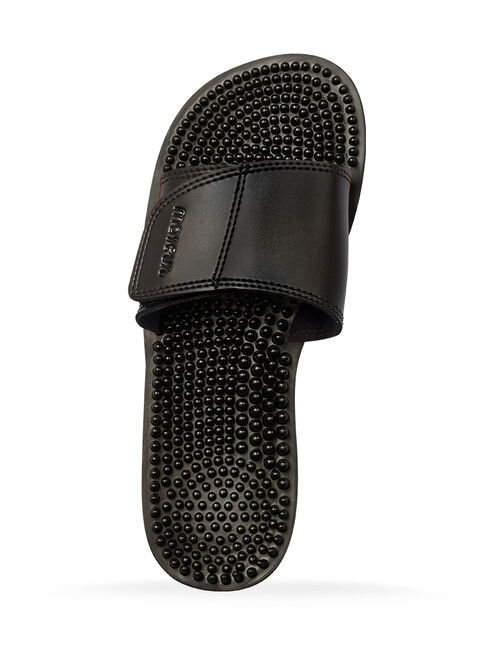 Maseur Invigorating Massage Sandal Black Size 5