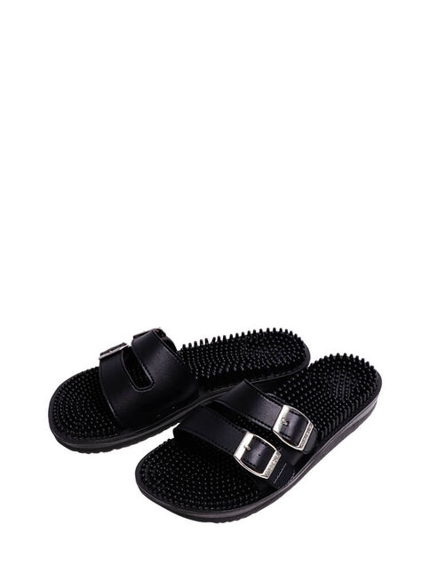 Maseur Limited Edition Invigorating Massage Sandal Black Size 10