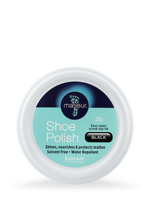 Shoe Polish Black 38g