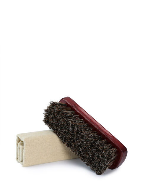 Professional Shoe Brush & Cloth