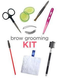 At Home Brow Grooming Kit
