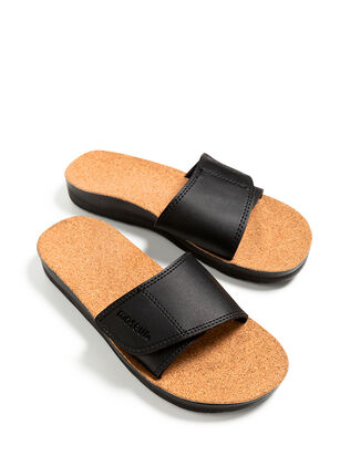 Gentle Massage Sandal Black