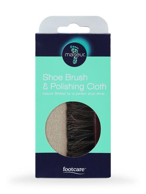 Professional Shoe Brush & Cloth
