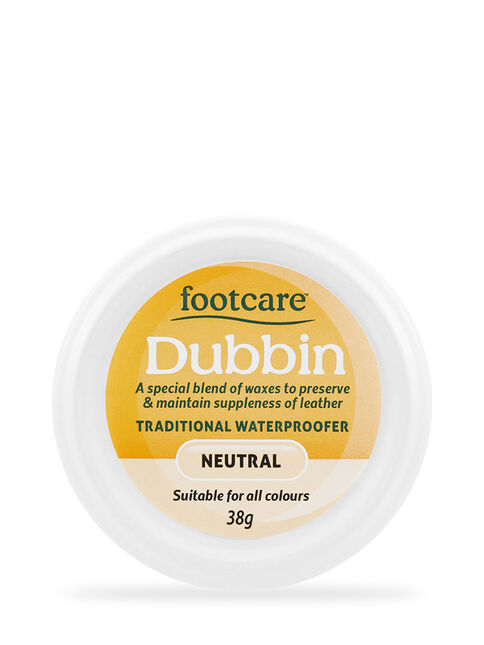 Dubbin Nourishing & Waterproofing Shoe Polish Neutral 38g