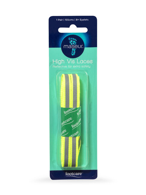 High-Vis Laces 155cm, 1 pair