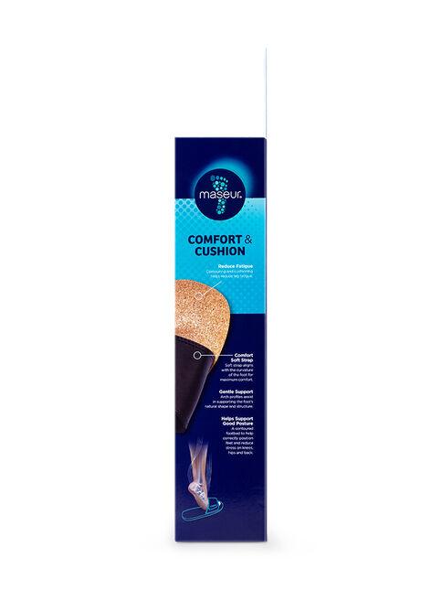 Maseur Gentle Massage Sandal Black Size 11